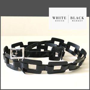 WHBM Black «reptiles» Belt